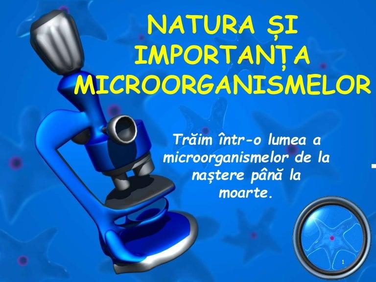 microorganisme și helminți