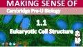 Cambridge Pre-U Biology - 1.1 Eukaryotic Cell Structure
