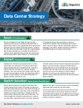 Data Center Strategy Issues, Impacts, and RackN Solution