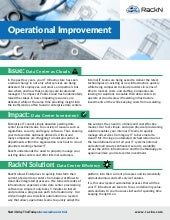 Operational Improvement Issues, Impacts and Solution from RackN