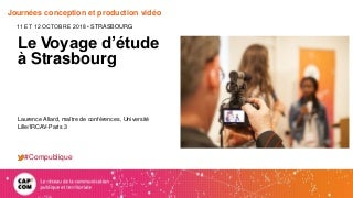 Productions vidéos : un panorama des usages en #compublique