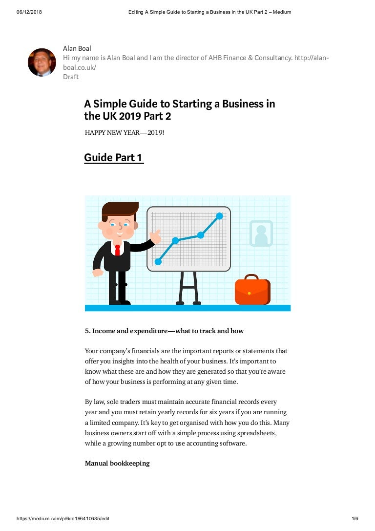 A Simple Guide to Starting a Business in the UK Part 2