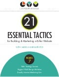 21 essential tactics for building and marketing a killer website