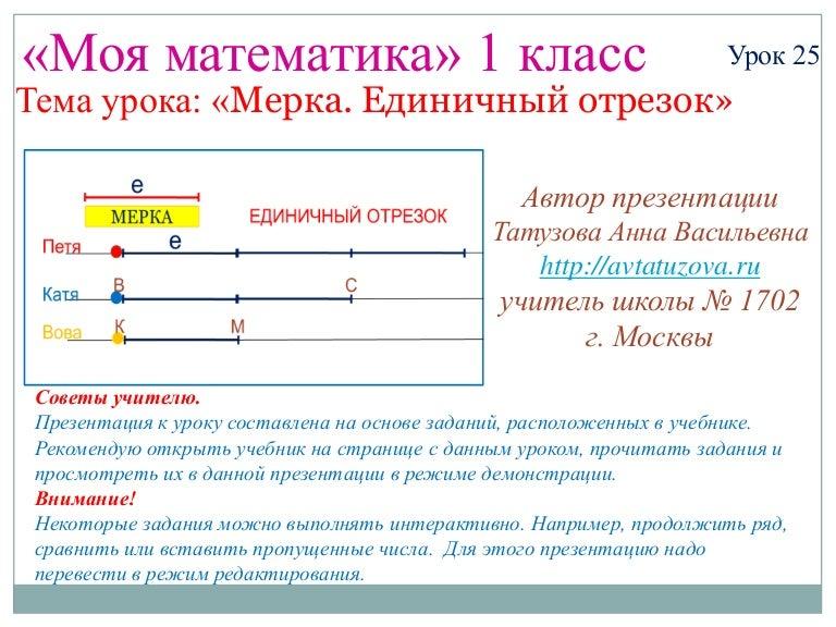 Конспект урока математики в 1 классе по демидову урок римские числа