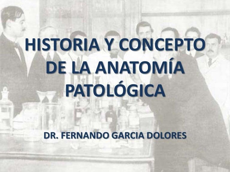 Definición y evolcion de la patologia