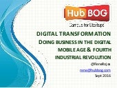 Digital Transformation and Digital Business