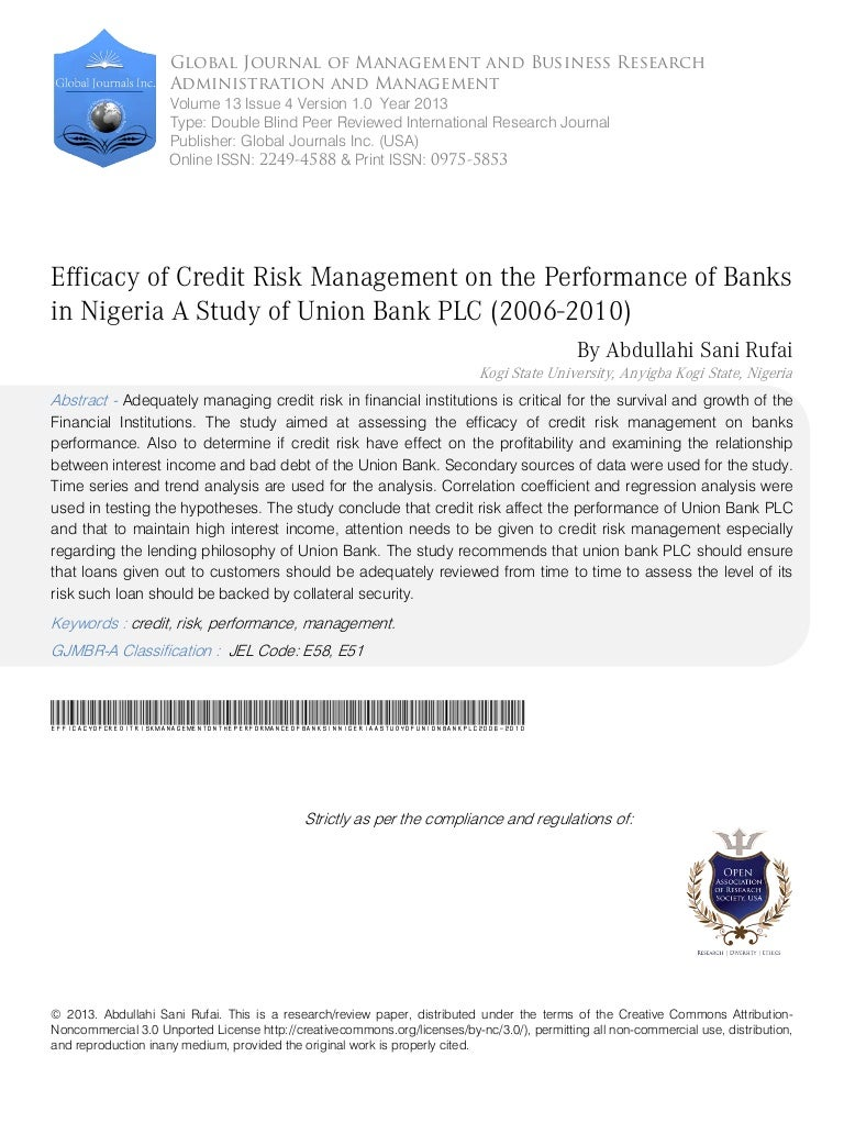 you make Dissertation Report On Risk Management In Banks for