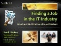 Finding a Job in the IT Industry