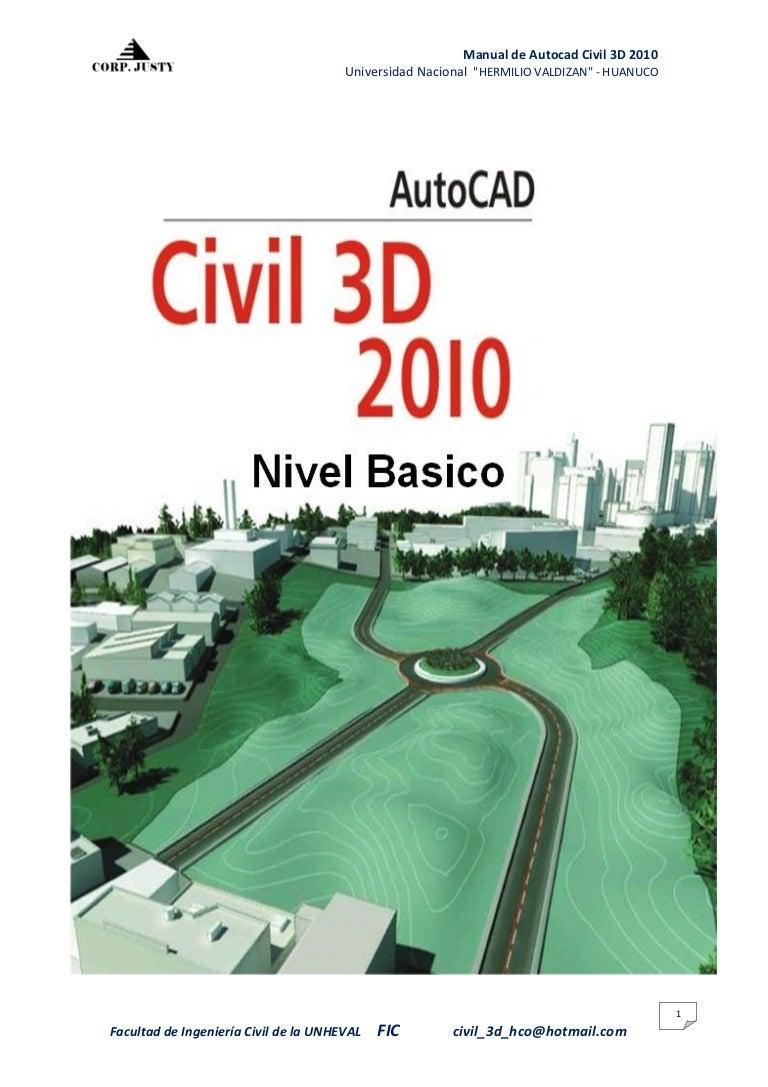1 manual del civil 3d rh es slideshare net manual de autocad 2016 manual de autocad civil 3d en pdf