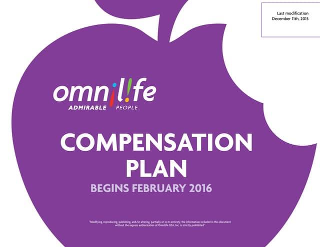 New Compensation Plan