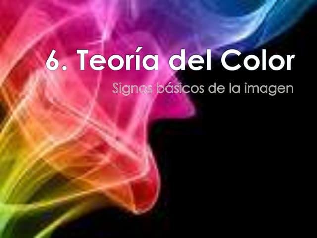 1 . teoría del color