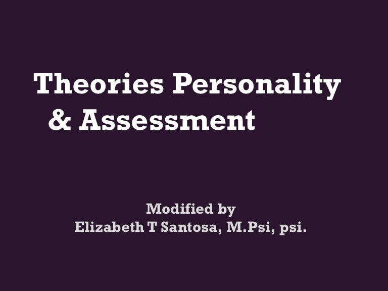 theories of personality 3 essay Free personality theories papers, essays, and research papers.