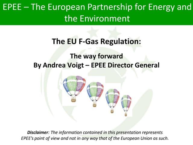 The EU F-Gas Regulation