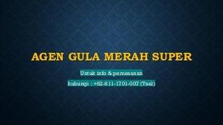 READY STOK WA +62 811-1701-007, Penjual Gula Merah Koin di Makassar Sulawesi
