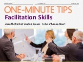 One-Minute Tips: Facilitation Skills