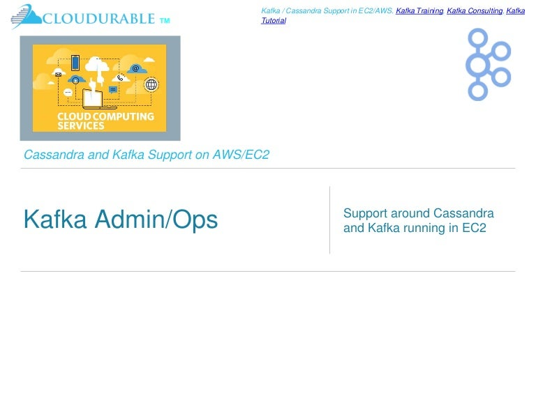 Kafka Tutorial - DevOps, Admin and Ops