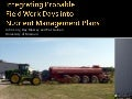 Integrating Probable Fieldwork Days into Nutrient Management Plans