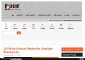 10 Must Have Website Design Elements
