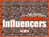 10 Social Media Influencers Who Shaped 2011