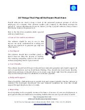 10 things-that-a-good-payroll-software-must-have10 Things that Payrol…