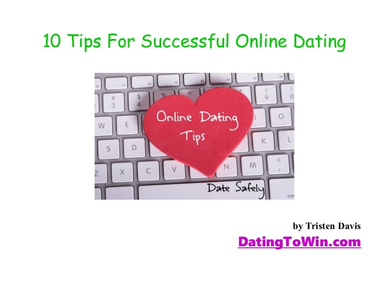 advice for online dating success