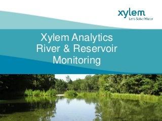 10 - Xylem River Water Monitoring WORLD BANK-Sep-15