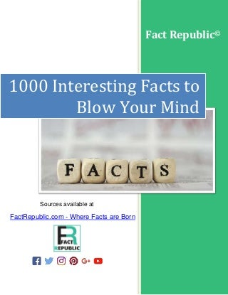 1000 interesting-facts-to-blow-your-mind