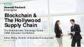 BLOCKCHAIN & THE HOLLYWOOD SUPPLY CHAIN