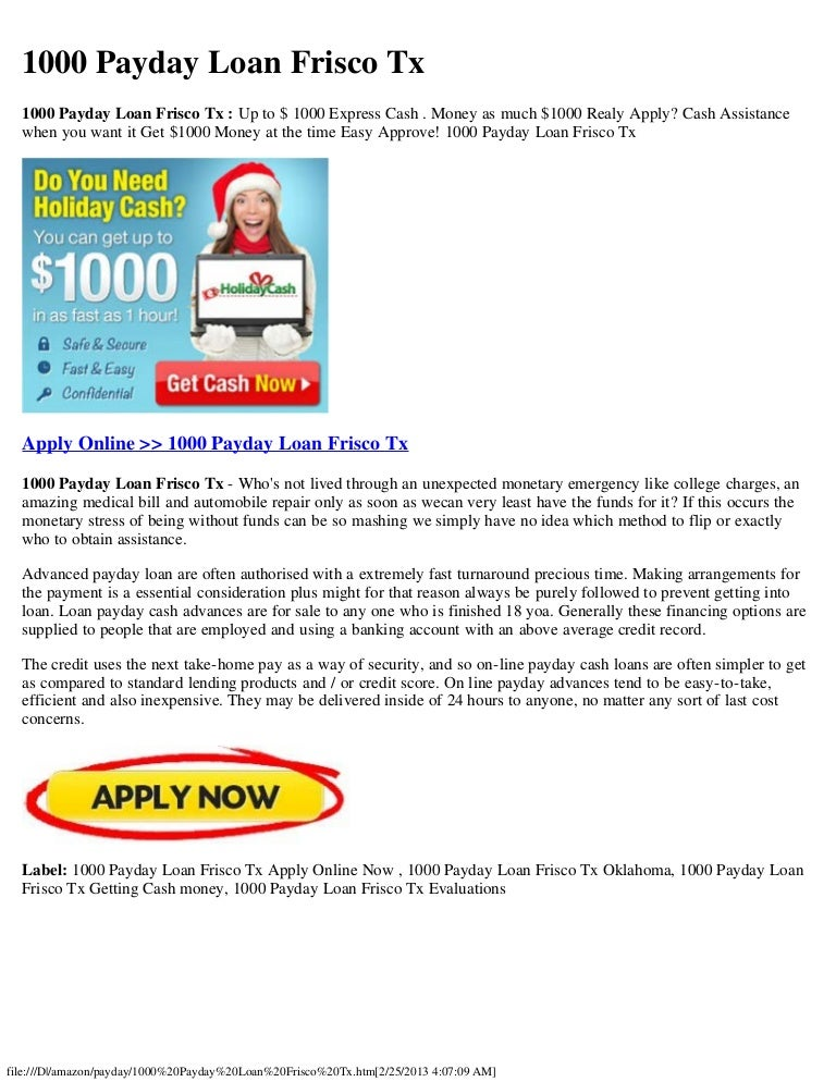 Highest payday loan amount image 8