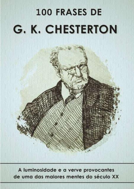 100 Frases de Gilbert Keith Chesterton