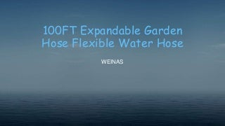 100 ft expandable garden hose flexible water hose