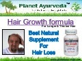 100% Natural Hair Growth Formula That Works - Planet Ayurveda