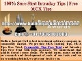 100% sure shot intraday tips