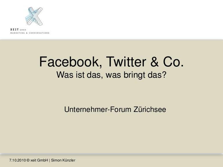 Facebook Twitter Co Was Ist Das Was Bringt Das