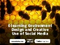E-learning Environment Design and Creative 