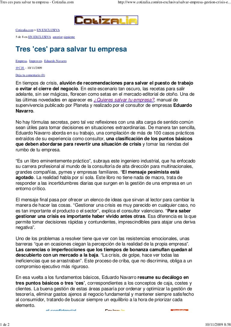 Articulo en Elconfidencial.com