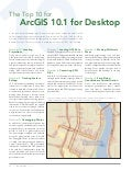 The Top 10 for ArcGIS 10.1 for Desktop