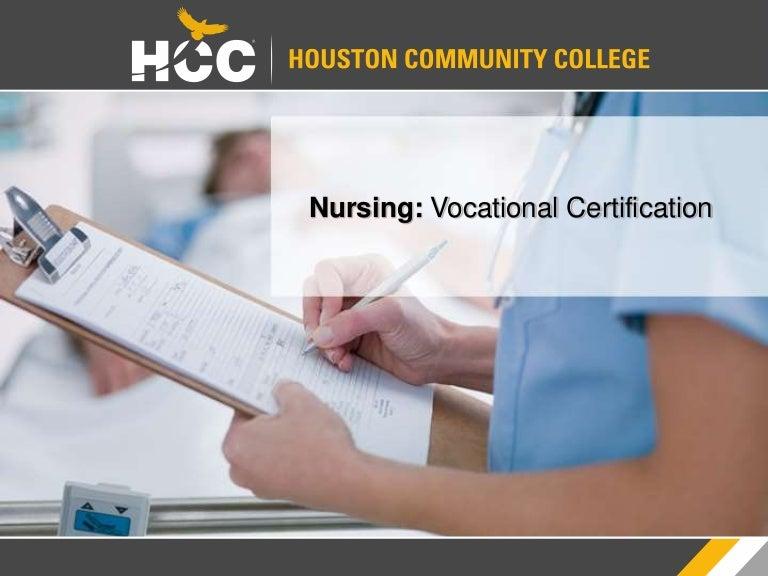 Houston Community College: LVN Orientation