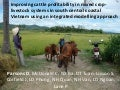 Improving cattle profitability in mixed crop-livestock systems in south central coastal Vietnam using an integrated modelling approach. David Parsons