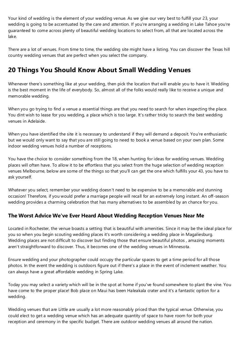 Why You Re Failing At Outdoor Wedding Locations Near Me