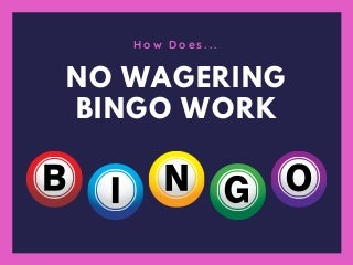What is no Wagering Bingo?
