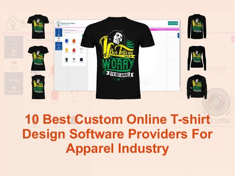 10 Best Custom Online T Shirt Design Software Providers For Apparel I
