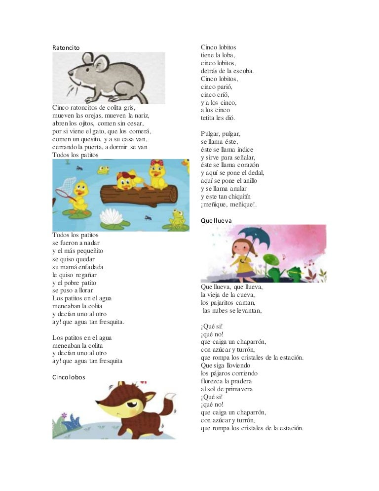10 Canciones Infantiles