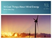 10 Cool Things About Wind Energy