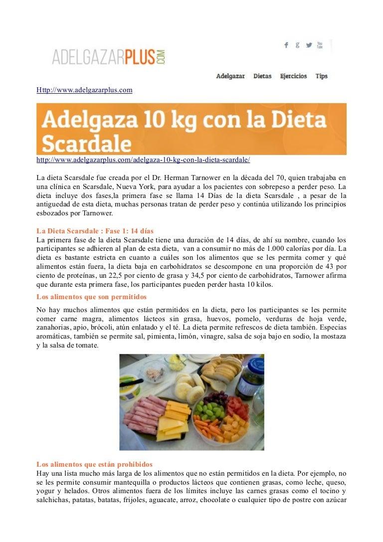 dietas mas rapidas para adelgazar