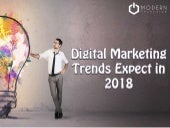 10 Digital Marketing Trends Expect in 2018