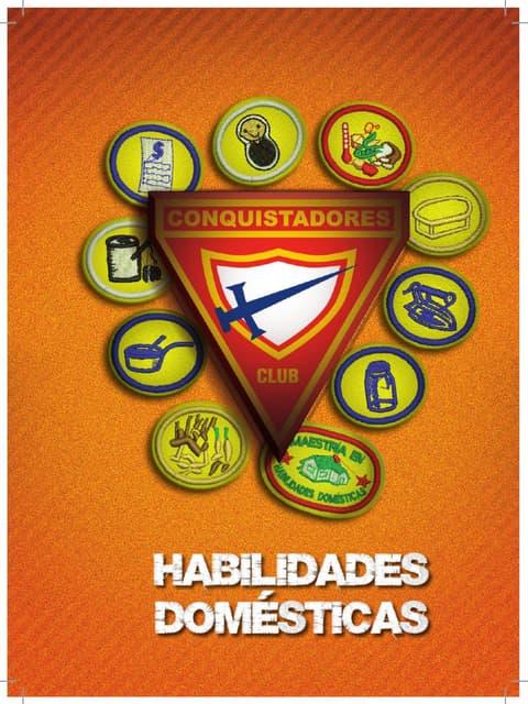 10 Especialidades de Habilidades Domesticas   Club de Conquistadores