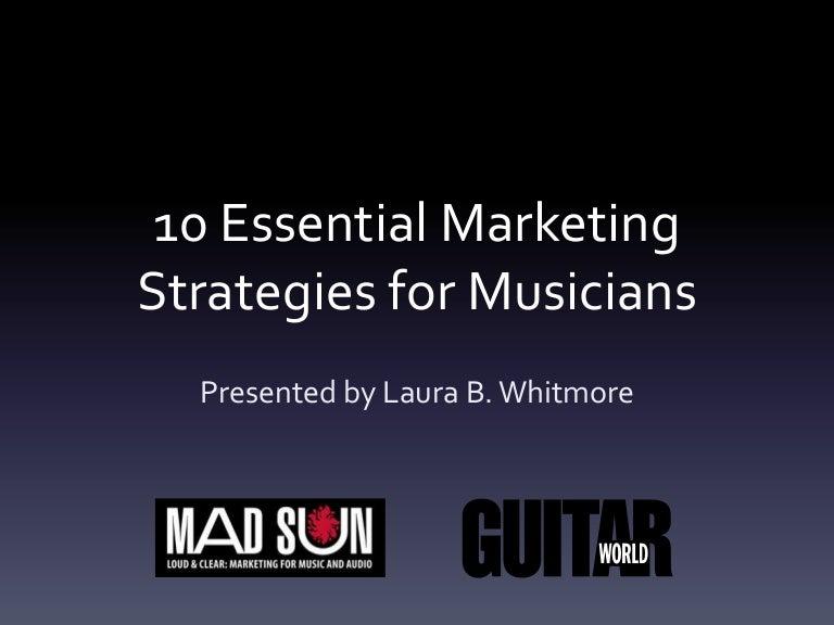 10 Essential Marketing Strategies for Musicians