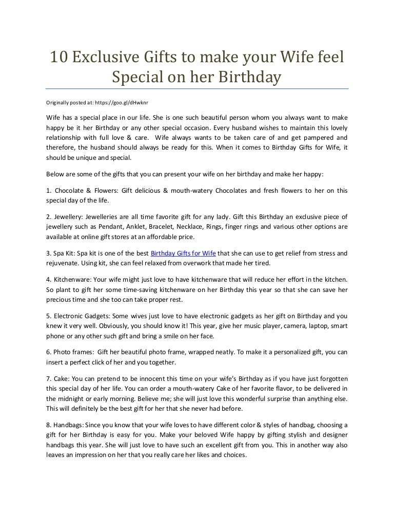 How To Make Her Feel Special On Her Birthday