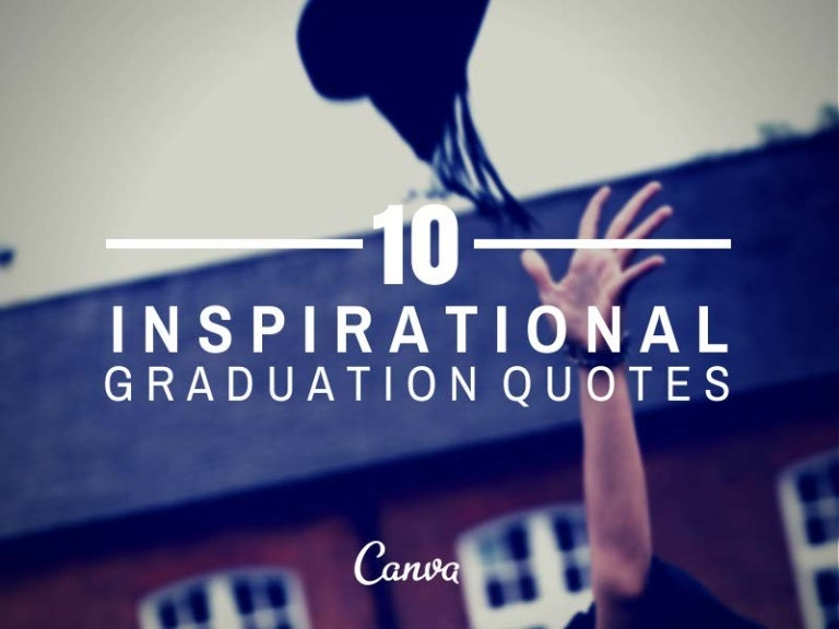 inspirational quotes for graduation